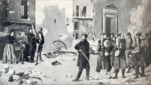 Zur Geschichte der Pariser Commune von 1871