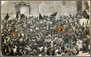 1914 MANIFESTACION 1 DE MAYO PLAZA DE SANTIAGO (1)