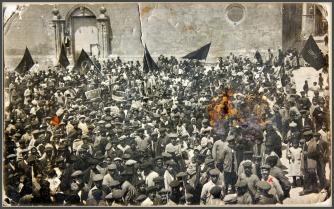 00_ MANIFESTACx 1 MAYO PLAZA SANTIAGO (VILLENA-1914)