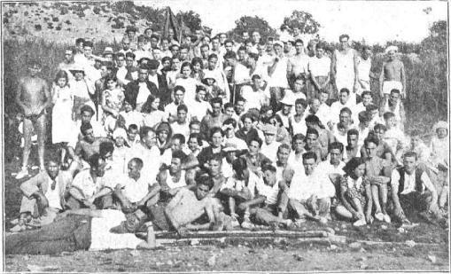 00_Grupos Excursionistas libertarios Cocentaina_gente de Villena-Bañeres-Alcoy-Cocentaina-Bocairente_LRB 01-10-1932