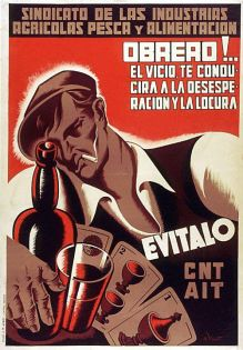Vicente E. MC0092 1936 100x70 Barcelona CNT-AIT