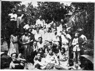 grupo excursión de la JS Sax_Renovación 31-07-1931