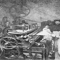 Obreros del TEXTIL a FINES del XIX
