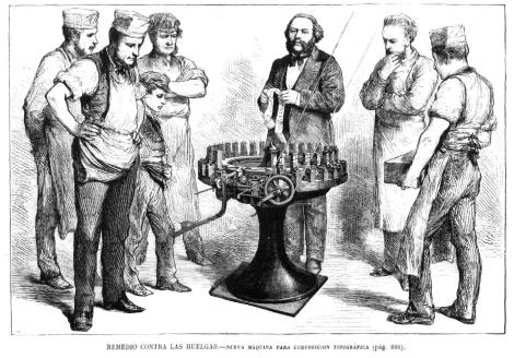 maquina tipografica