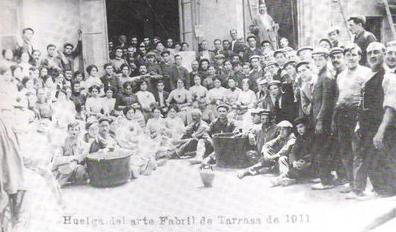 Arte fabril Terrassa vaga 1911