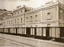 Estación del Ferrocarril de La Marina