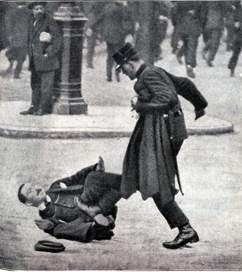 Ayer y Hoy_Represión policial_Floréal_1922_01
