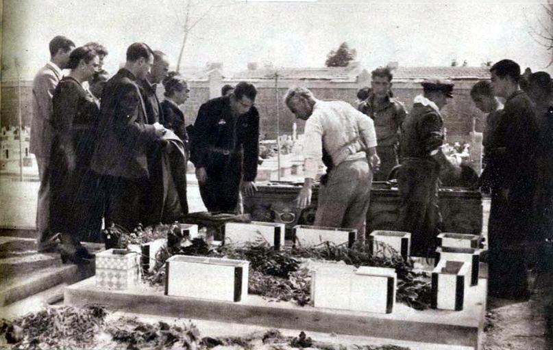 Exhumación Primo de Rivera_Cementerio de Alicante abril 1939_01
