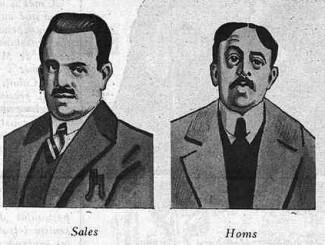 Terrorismo Blanco_dirigentes del Sindicato Libre 1919_Barcelona