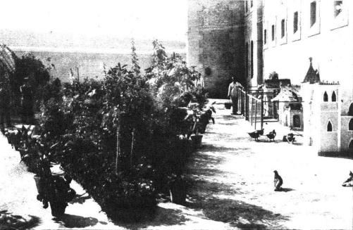 vista interior patio Reformatorio Adultos Alicante 1931_Mndo Gráfico