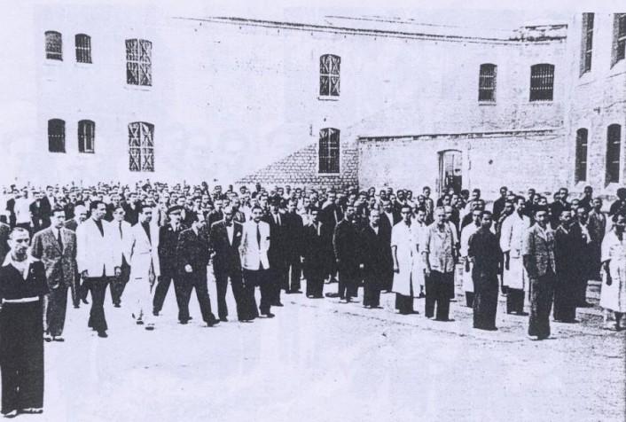 vista interior_Reformatorio de Adultos Alicante_visita de autoridades franquistas