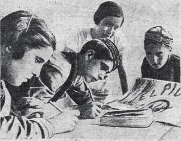 00_NiñosExiliadosRusia-PeriodicoMural-1937_Estampa 28-08-1937