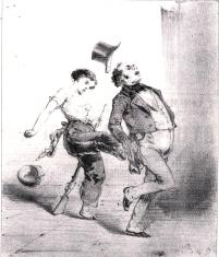 Caricatura Vesuvianas_París 1848