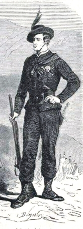 00_VoluntariosdelaMuerte_Garibaldi-LeMondeIlustre 05-08-1860