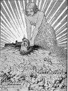 Barcelona mata al monstruo de Montjuich_L'Esquella de la Torraxa 30-03-1934