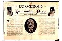 Exemplar de: Humanidad Nueva: revista de pedagogia ilustrada. Órgano de la Escuela Moderna de Valencia . València: Escuela Moderna de Valencia, 12-6-1907. [p.16; il]
