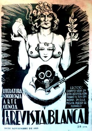 Portada de la Revista Blanca del 29-11-1935