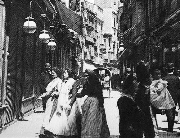 012_calle zaragoza 1910__Valencia