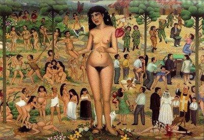 Cuadro de José Luis (Ric)-Lo mujer y las mujeres_Fundación de Estudios libertarios Anselmo Lorenzo Madrid