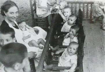 Guarderia infantil per refugiats_Visions de guerra i reraguardia 1937 (2)