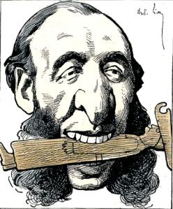 Caricatura de Jules Ferri