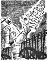 Artificio revolucionario_Hombre máquina_Ilustraciones_Frankenstein L'Age d'Or ou le Fin du monde_Jean Nocher_París 1935_08