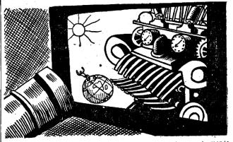 Artificio revolucionario_Hombre máquina_Ilustraciones_Frankenstein L'Age d'Or ou le Fin du monde_Jean Nocher_París 1935_7