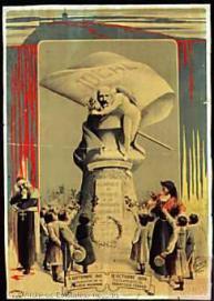 00_Postal 8 septiembre 1901_ inauguración de la Escuela Moderna - 13 octubre 1909_ fusilamiento de Francisco Ferrer- Centro Documental de la Memoria Histórica _PS-CARTELES 1078