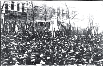 13_manifestacion_Inauguracion del monumento dedicado á la memoria de Francisco Ferrer en Bruselas_1911 nov