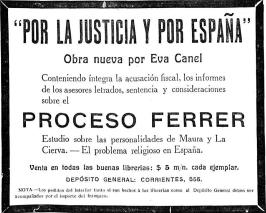 anuncio editorial_proceso Ferrer_1909