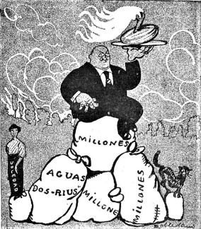 caricatura_Monumento Ferrer en Barcelona_1914 (5)