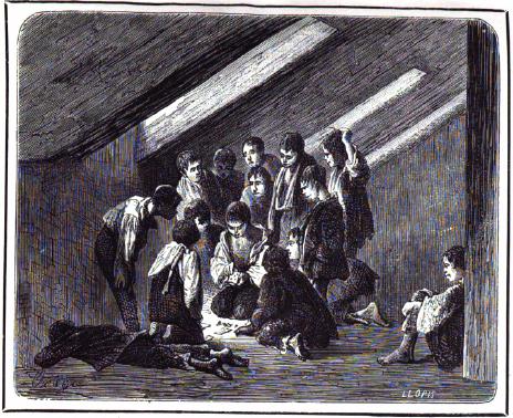 Departamento de los Micos_Cárcel de El saladero_Madrid 1860