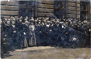 Ferrer Guardia en Congreso Librepensador Praga 1907_IISH