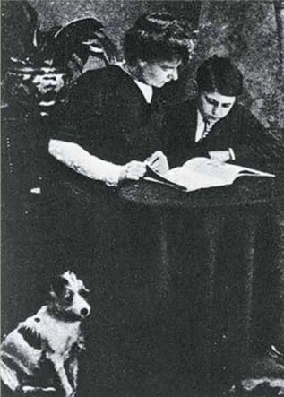 Leopoldine Bonnard y Riego Ferrer_Londres 1913