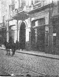 Manifestacion Pro Ferrer_Delegacion española_Montevideo 13-10-1909