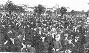 Manifestacion Pro Ferrer_Plaza de Mayo_Buenos Aires 13-10-1909