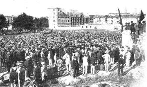 Manifestacion Roma 17-10-1909_Pro Ferrer