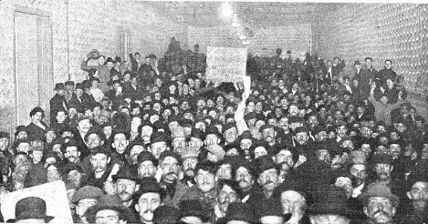 Mitin anarquista Pro Ferrer_Buenos Aires 14-10-1909
