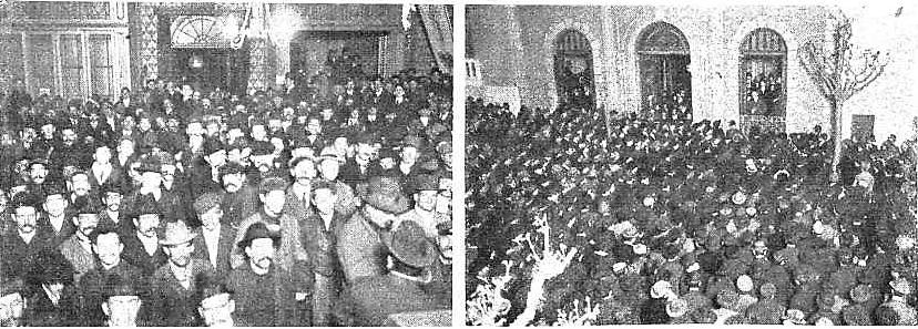 Mitin Pro Ferrer_Centro Internacional_Montevideo 13-10-1909