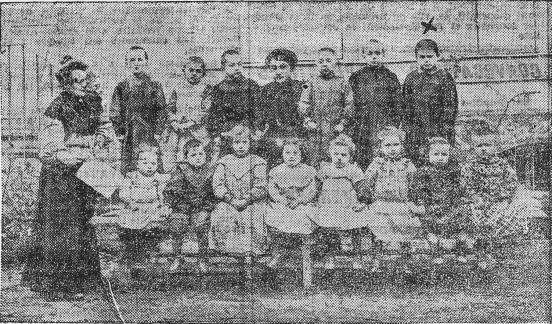 Retrato escuela L'Avenir Social_Riego Ferrer_L'Humanité 17-10-1909