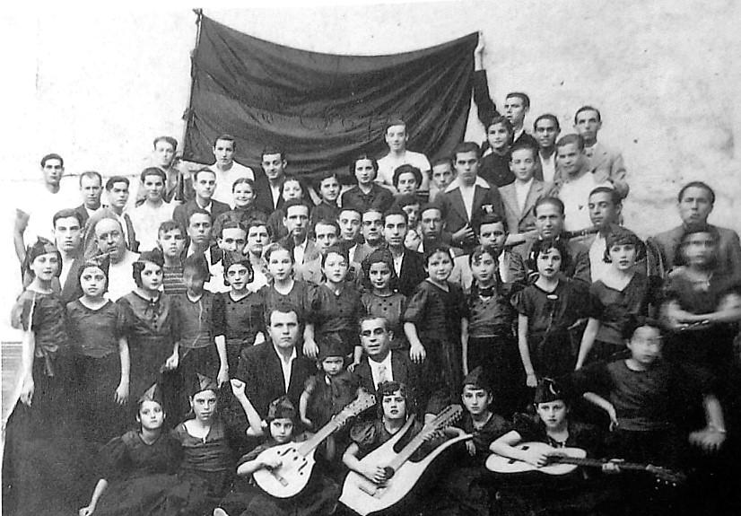 0_Grupo Los Jovenes Libres_años 30 [ArxiuEMIDESA]