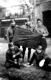 0_Milicianos de Elda_Entierro Durruti Barcelona_Noviembre1936_[Foto Pedro Payá]