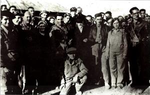 21_Sol Ferrer y Olga, con Durruti y Sebastian Faure_septiembre 1936_01