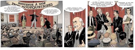 Encuentro Makhno y Durruti en París_192_Viva l'anarchie_la rencontre de Makhno et Durruti_scénario et dessins de Bruno Loth_01