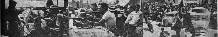 escenas de guerra y revolución