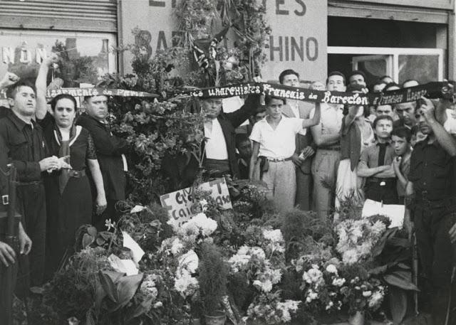Grupo franceses homenajean a Ascaso