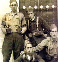 grupo voluntarios de los pueblos de Elda y Petrel_antes de salir hacia Madrid_ppios agosto 1936