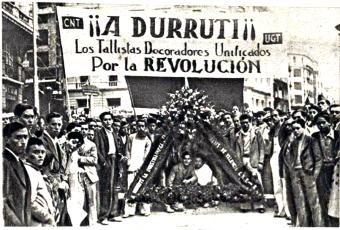 Homenaje a Durruti_Tallistas decoradores unificados