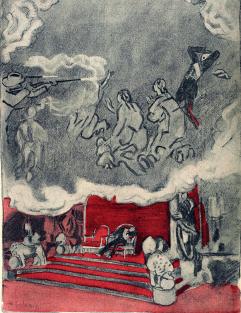 La pesadilla de un Rey_L'Assiette au beurre 1909_Radiguet