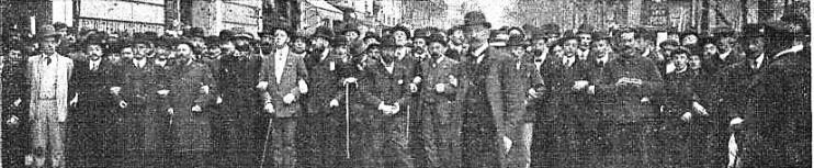 Manifestacion Pro Ferrer_París 13-10-1909_cabecera